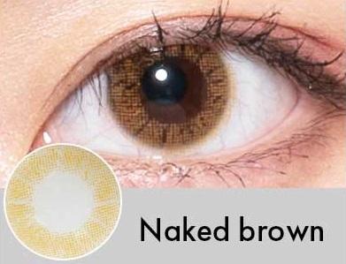 【度あり・度なし】Nakedブラウン(1年)