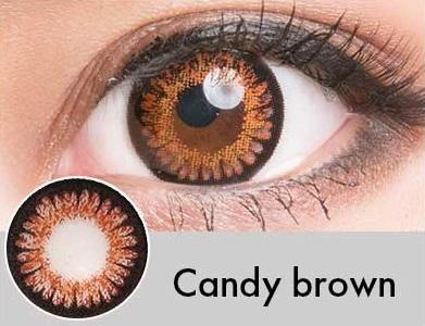 【度あり・度なし】Candyブラウン(1年)