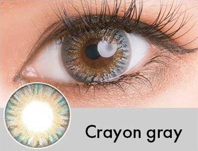 【度あり・度なし】Crayonグレー(1年)