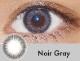 【度あり・度なし】Noirグレー(1ヶ月)