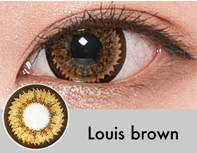 【度なし】Louisブラウン(1ヶ月)