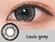 【度なし】Louisグレー(1ヶ月)