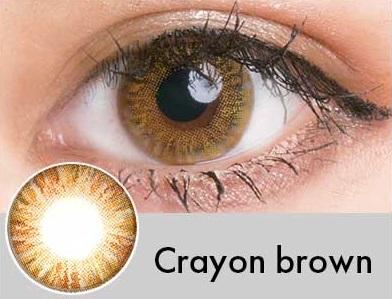 【度あり・度なし】Crayonブラウン(1年)