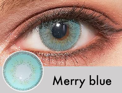 【度あり・度なし】Merryブルー(1ヶ月)