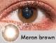 【度あり・度なし】Maronブラウン(1年)