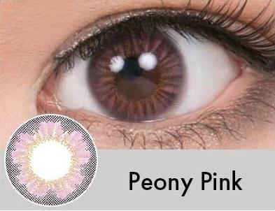 【度あり・度なし】Peonyピンク(1年)