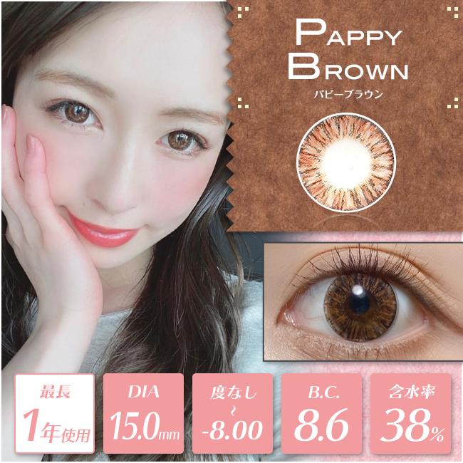 【度あり・度なし】Pappyブラウン(1年)