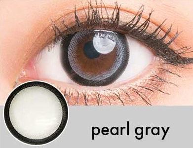 【度あり・度なし】Pearlグレー(1年)