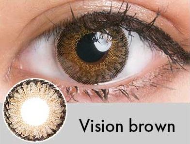 【度あり・度なし】Visionブラウン(1年)