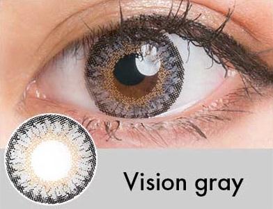 【度あり・度なし】Visionグレー(1年)