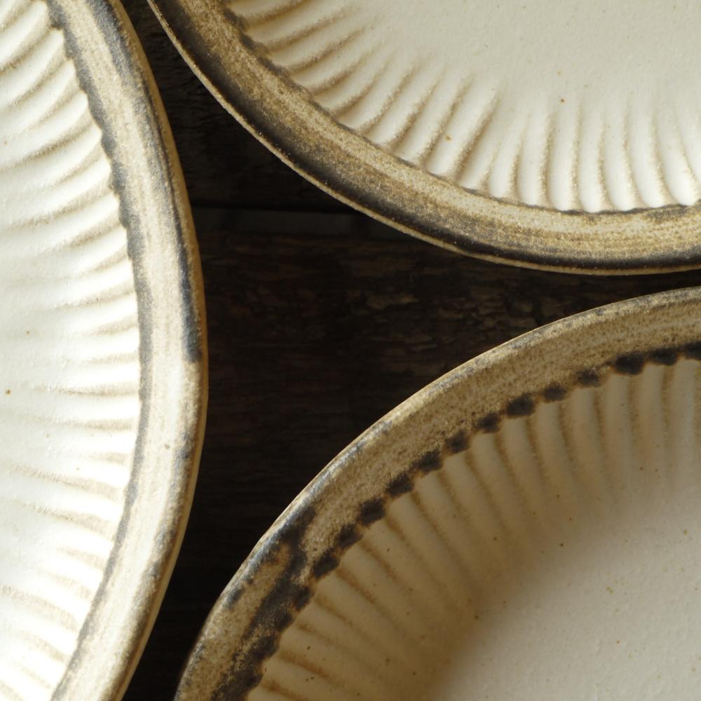 アンティークスリムライン プレート皿/わかさま陶芸