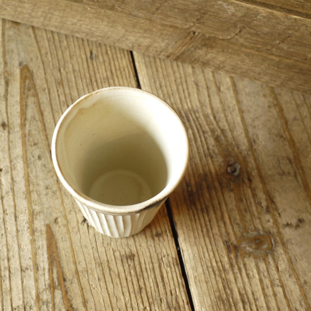 アンティークスリムライン アイスコーヒーカップ/わかさま陶芸