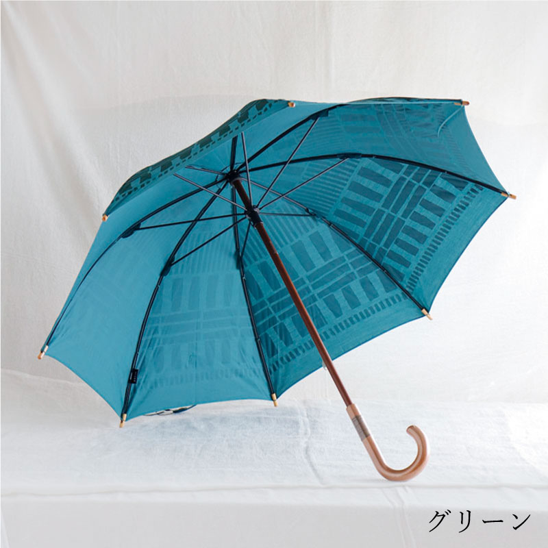 晴雨兼用日傘 長傘 サンド sand/392 plusm(サンキューニプリュスエム)