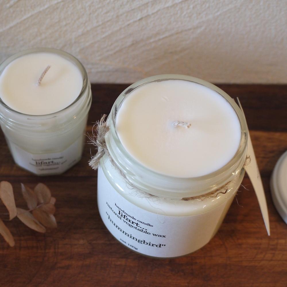 ソイワックス フレグランスキャンドル 160g/handmade candle lifart...