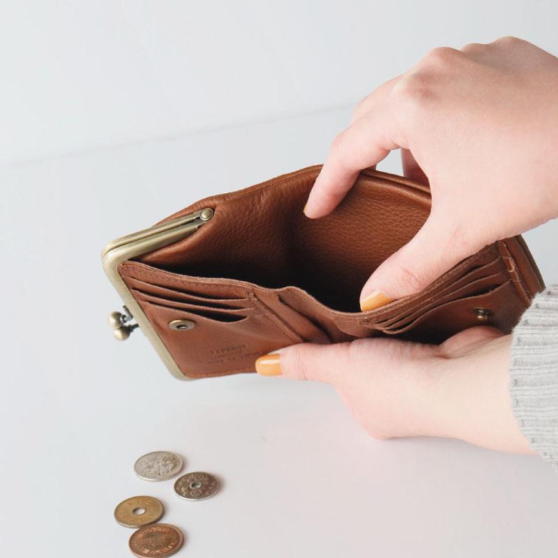 財布 WALLET M POCHE がま口/TIDEWAY