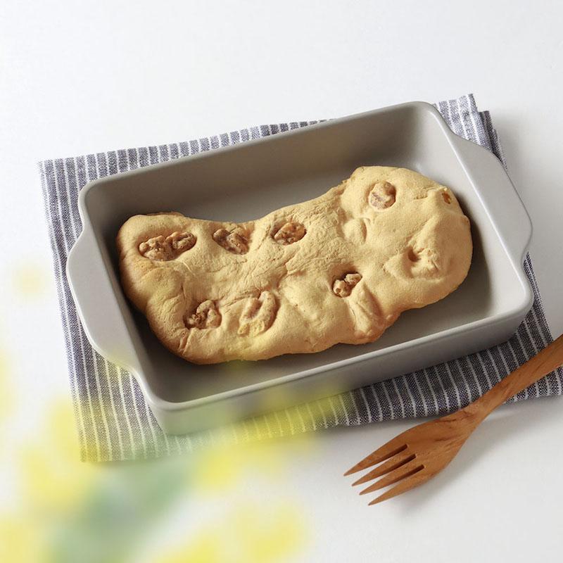 ベイクディッシュS フラット ウォームグレー/The chef