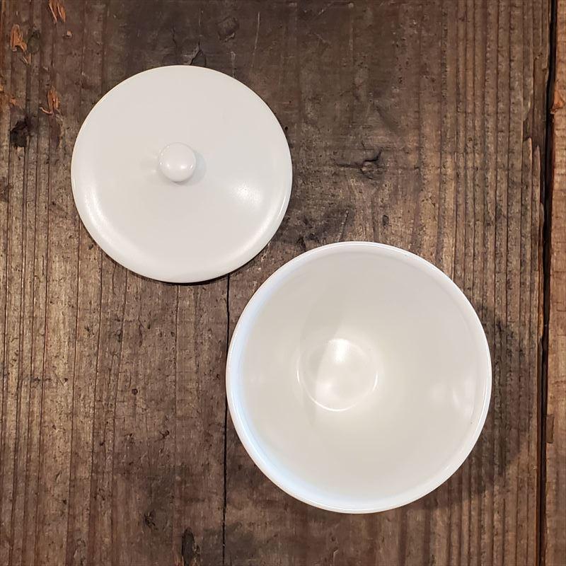 白磁 ロングカップ M (蓋付き)/倉敷意匠計画室