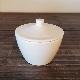白磁 ショートカップ (蓋付き)/倉敷意匠計画室