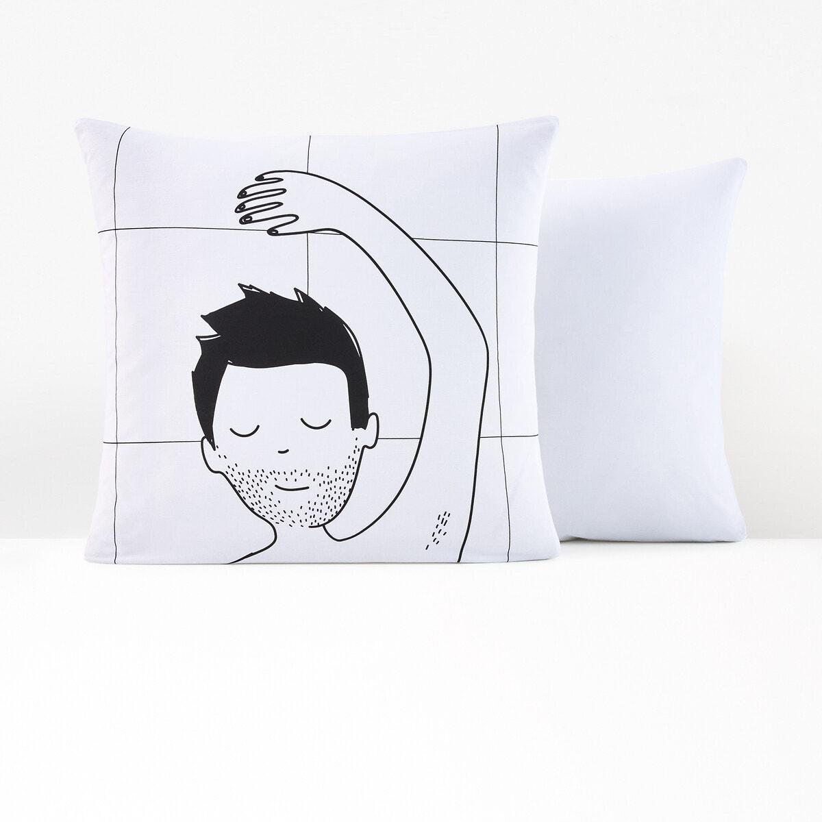 Sleepy Lovers Boy コットン 枕カバー