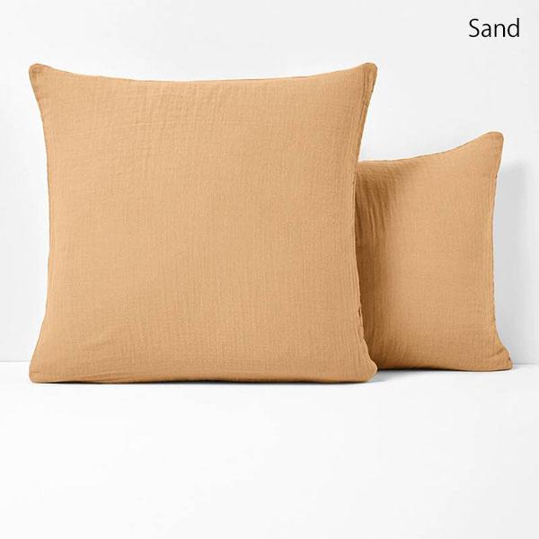 SNOW モスリンコットン枕カバー