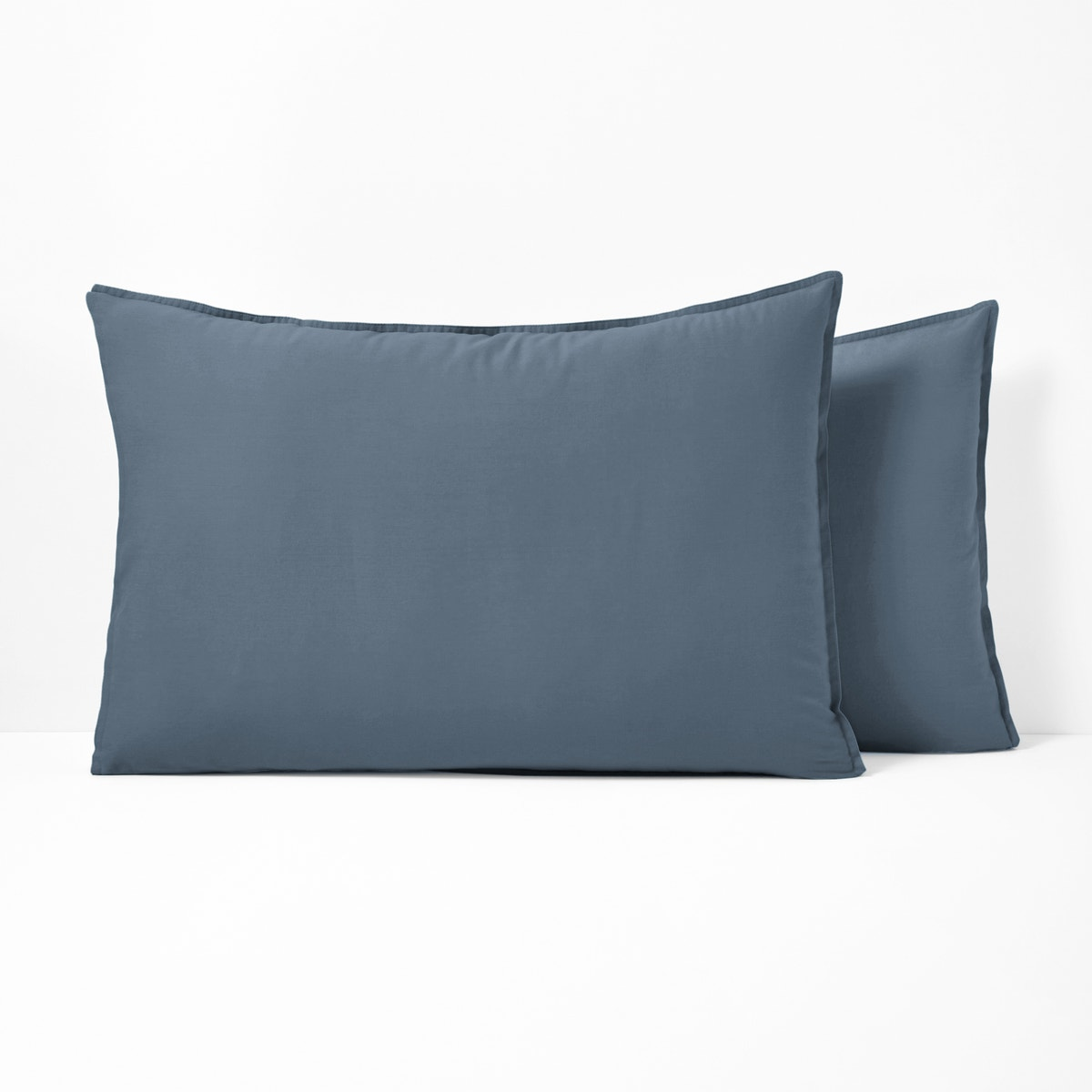SCENARIO ウォッシュ加工 コットン枕カバー