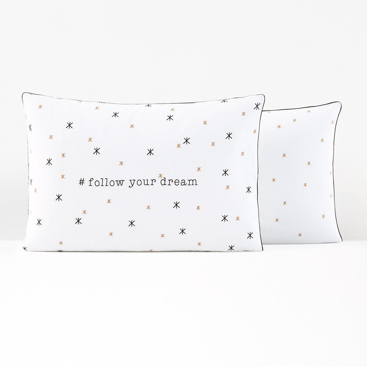 Follow Your Dream コットン 枕カバー