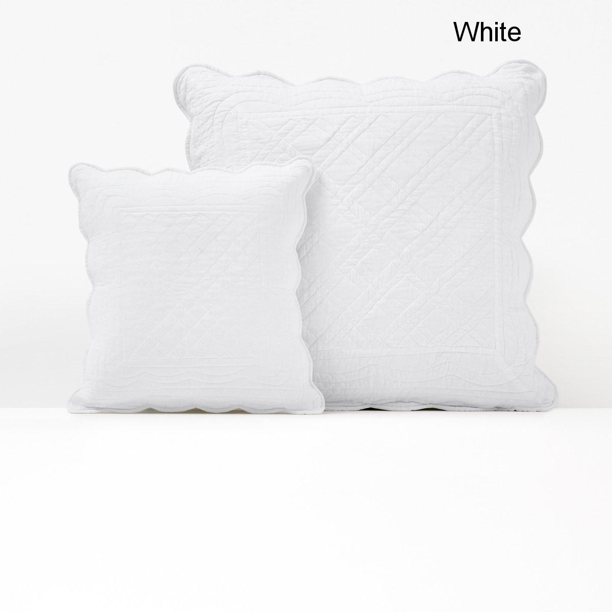 SCENARIO キルティング枕カバー/クッションカバー