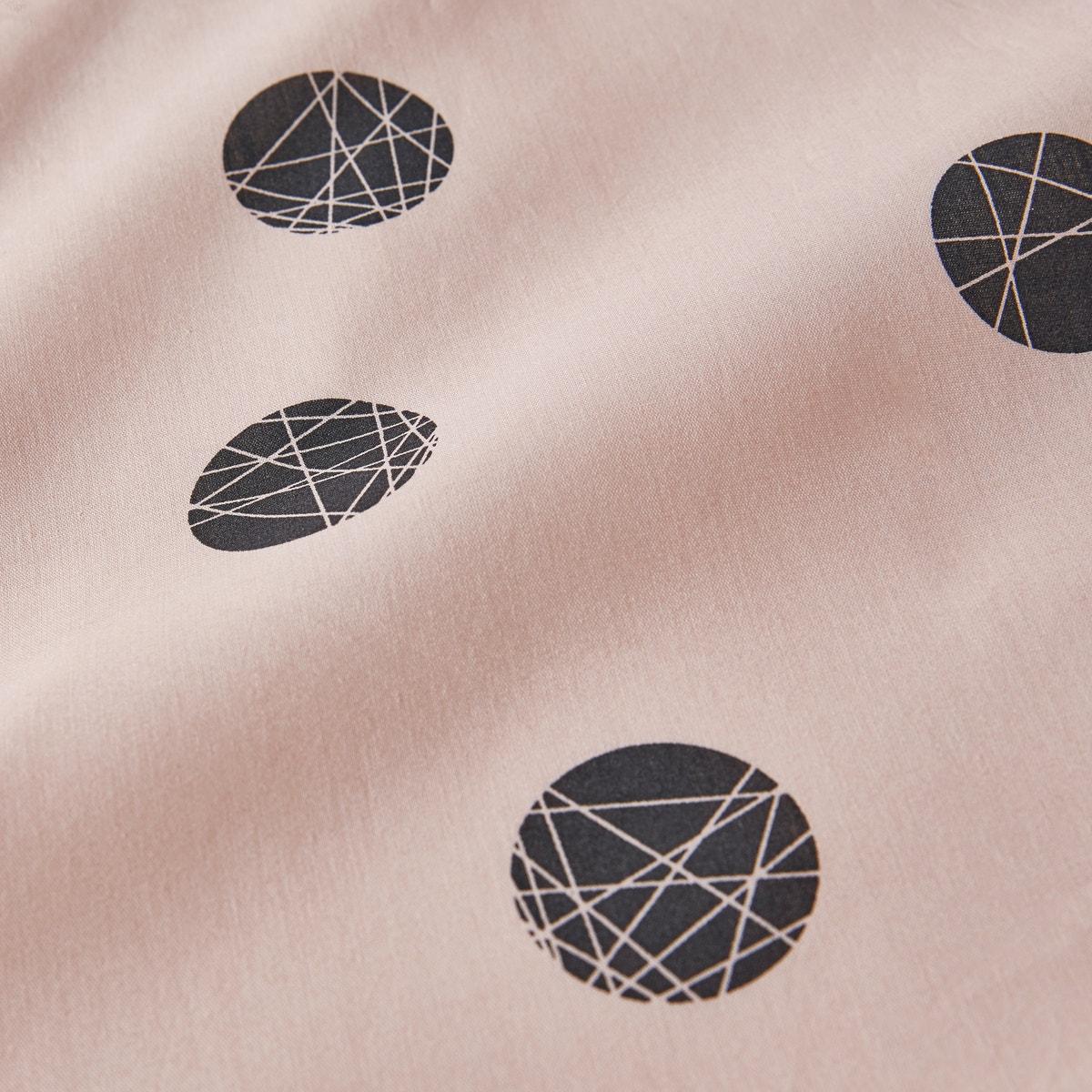 Bellvik コットン 幾何学模様プリントパーケル 掛け布団カバー