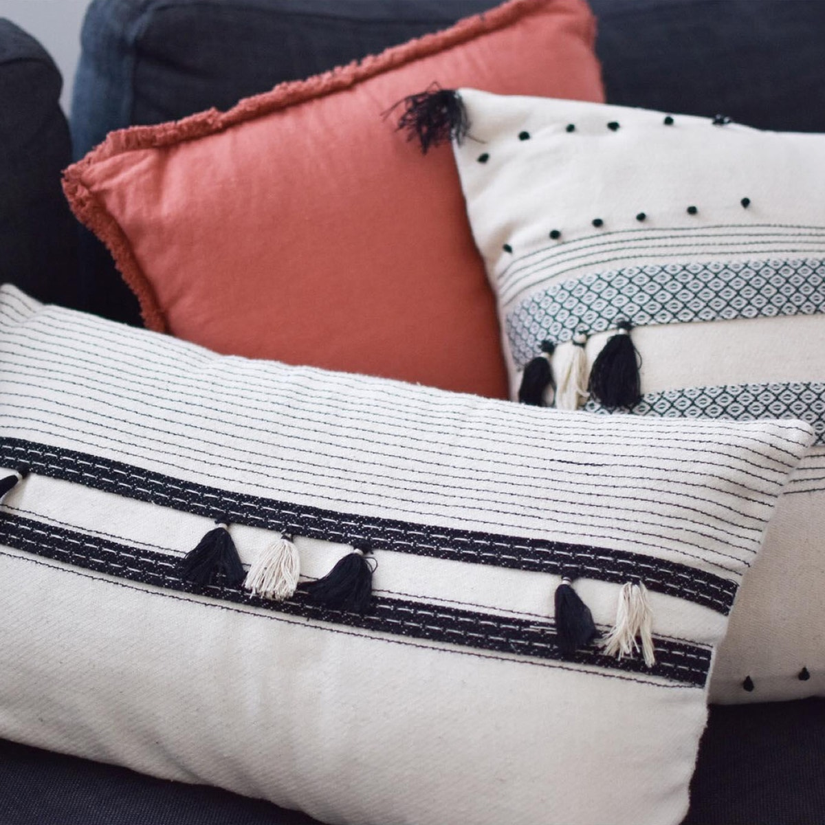 Parfeto Single Cotton Cushion Cover