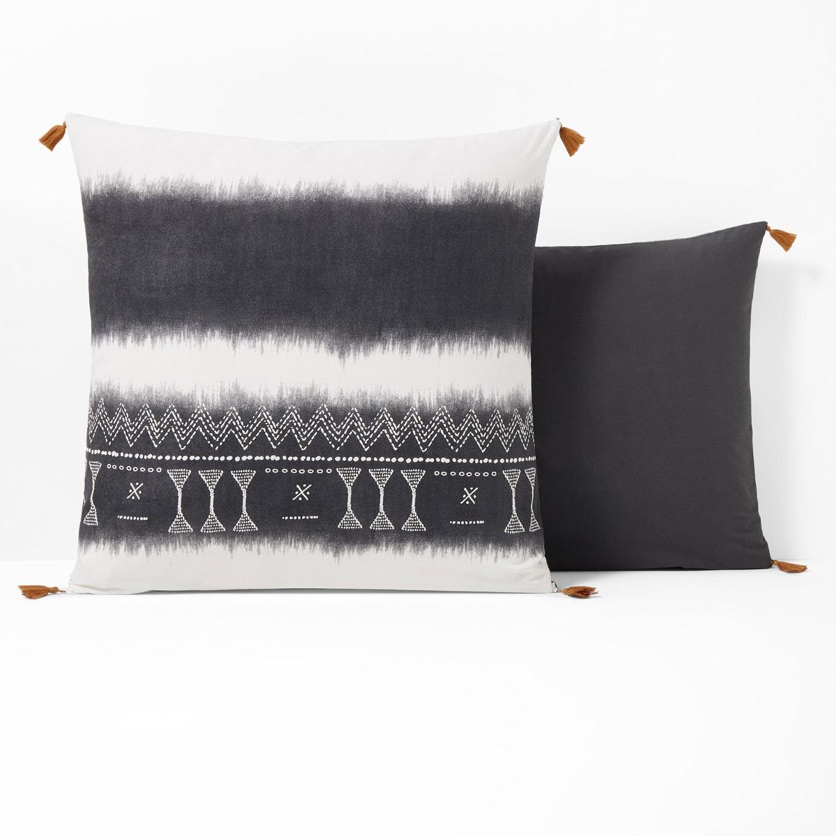 Yoruba コットン プリント枕カバー
