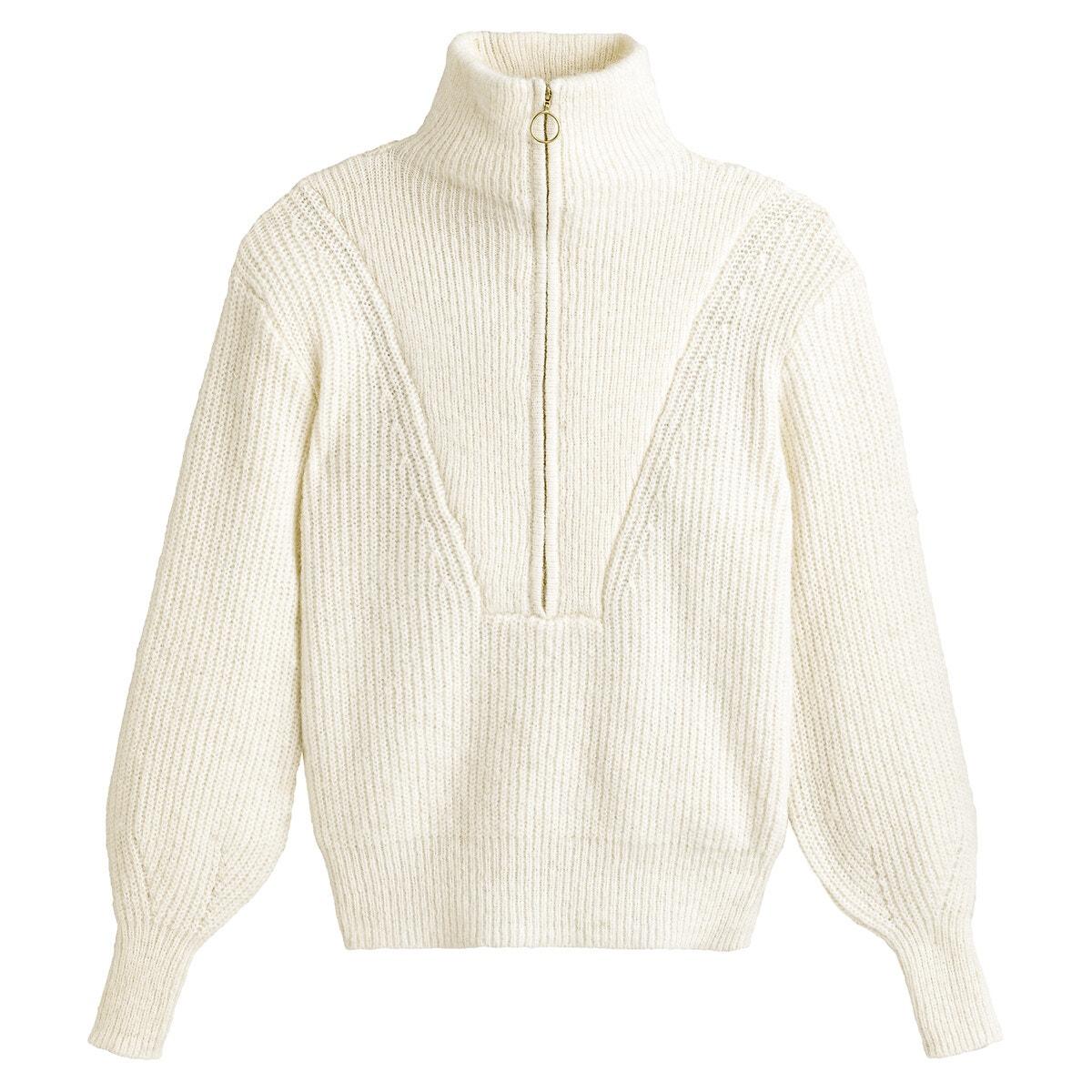 リサイクルアルパカ混ハイネックセーター