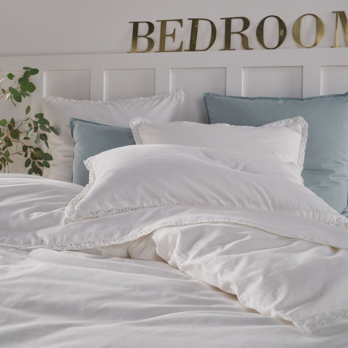 Alhambra Duvet Cover in Washed Cotton