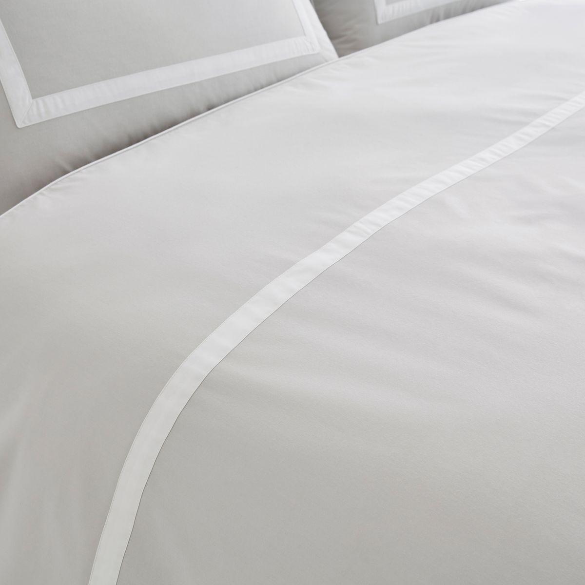 Othoza Monochrome Organic Cotton Percale Duvet Cover