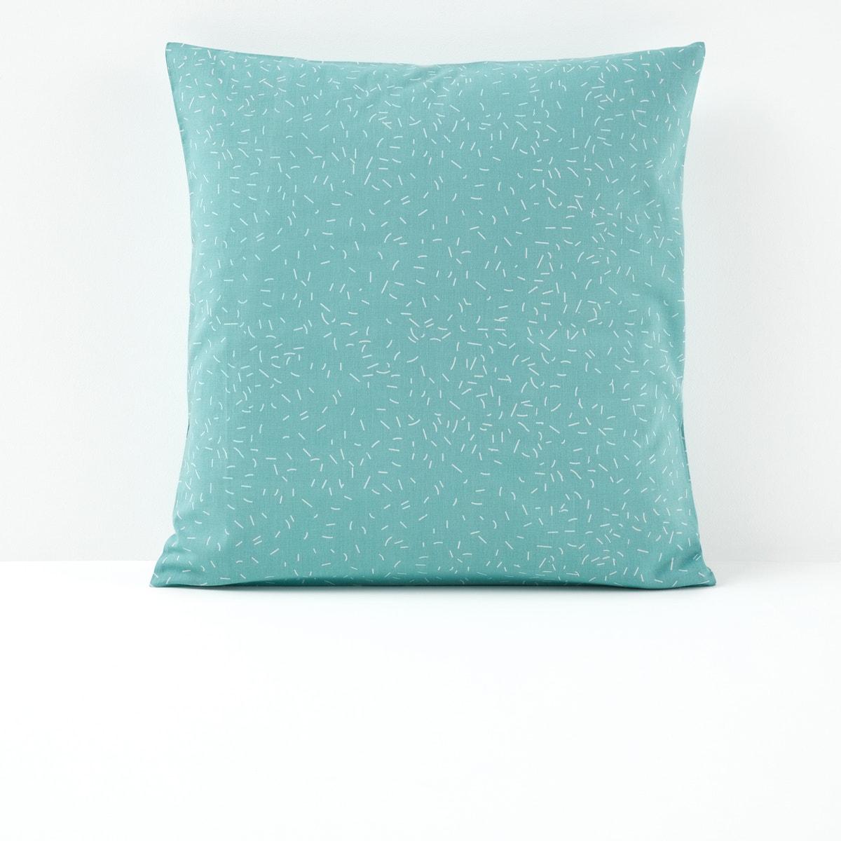 Fanions コットン プリント枕カバー