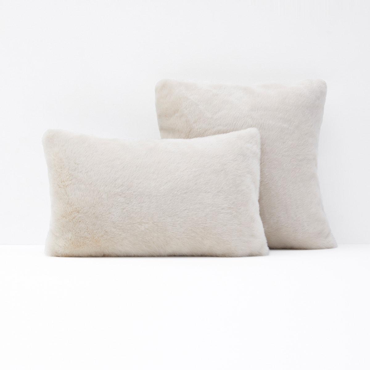 KANPUR Furry Cushion Cover