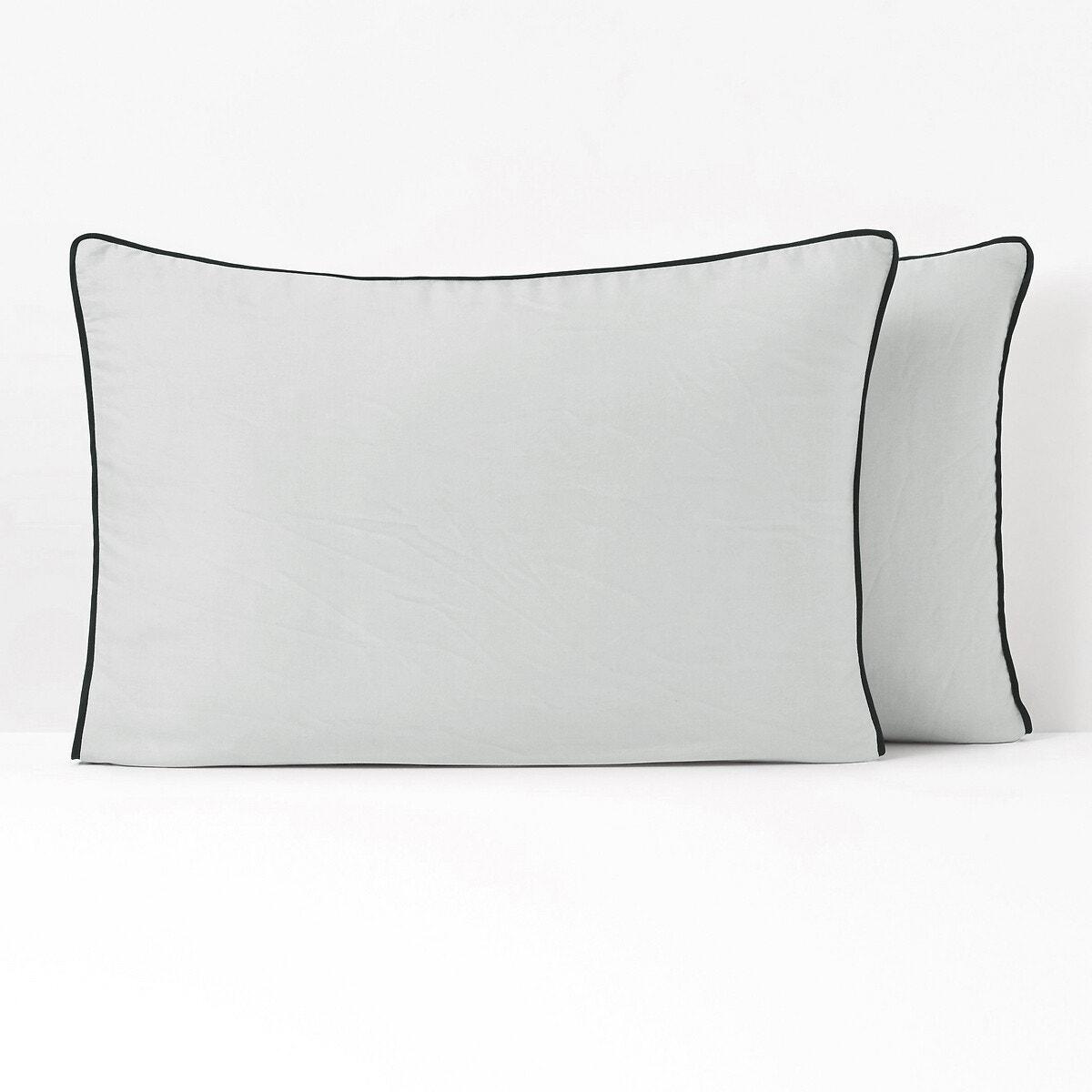 PAVONE ウォッシュ加工コットンサテン 枕カバー