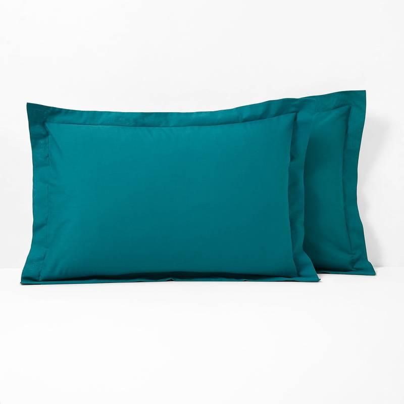 Scenario ポリコットン フリル付き枕カバー
