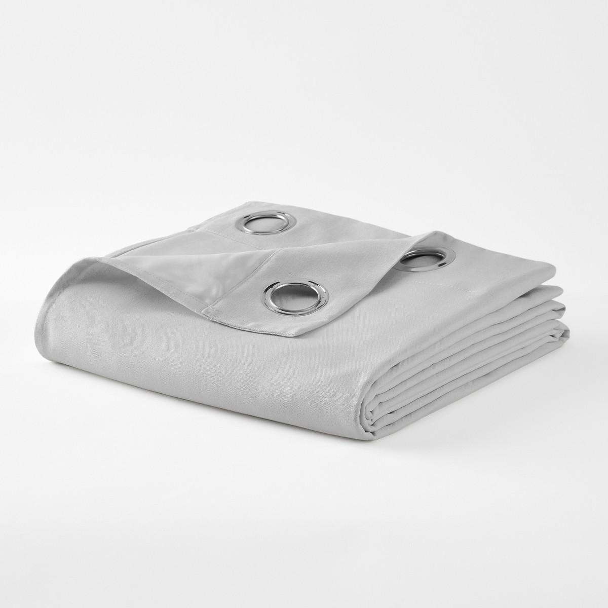 Taima リネン/コットンアイレット遮光カーテン