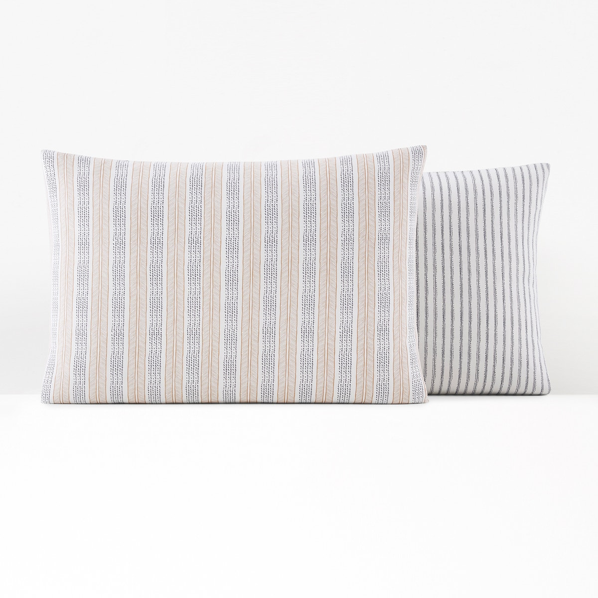 Summer Roots Pillowcase in Washed Cotton