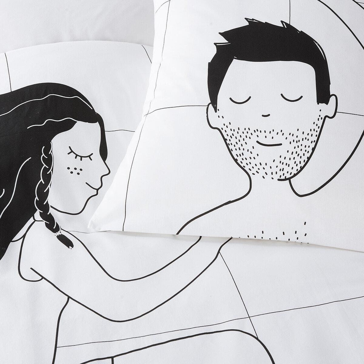 Sleepy Lovers コットン 掛け布団カバー