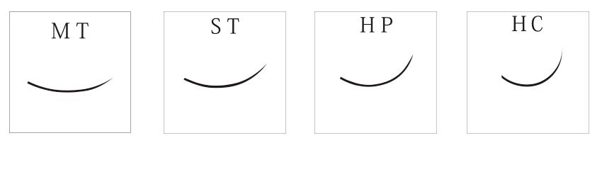 HPカール(Cカール/ファイバーエクステ)