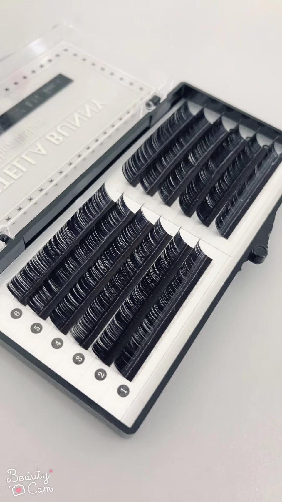 ボリュームラッシュ0.06mm HCカール(CCカール/ファイバーエクステ)
