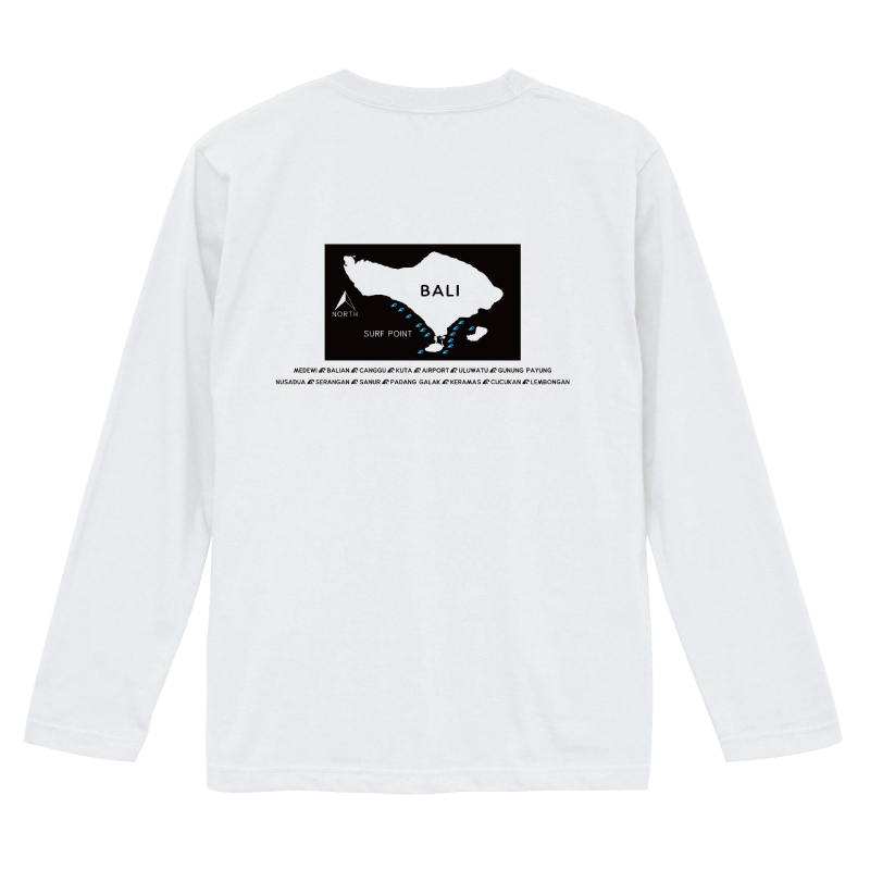 LAUT BALI SURF サーフ ロングスリーブ 長袖 Tシャツ LLT-4