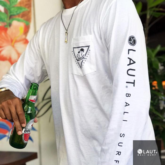 LAUT BALI SURF サーフ ロングスリーブ 長袖 Tシャツ LSP-m1