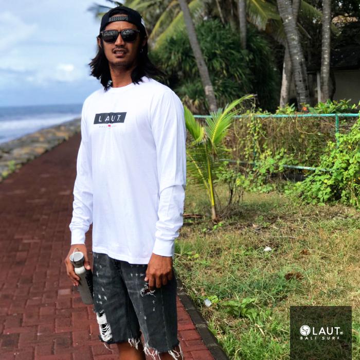 LAUT BALI SURF サーフ ロングスリーブ 長袖 Tシャツ LSR-m1
