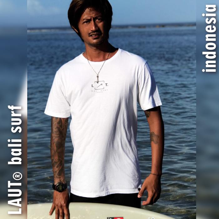 LAUT BALI SURF サーフ Tシャツ T-m8