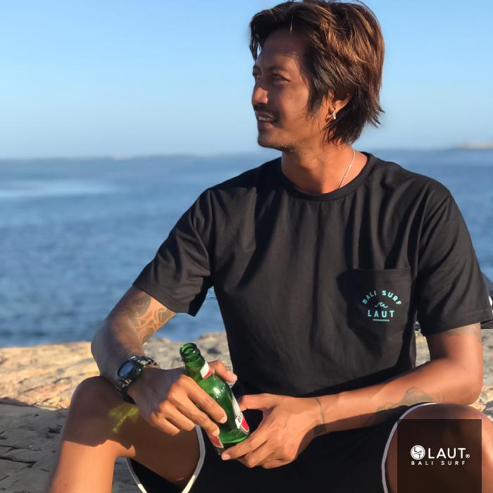LAUT BALI SURF サーフ Tシャツ Tp-m1