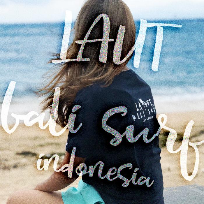 LAUT BALI SURF サーフ レディースTシャツ T-L3-Jtype
