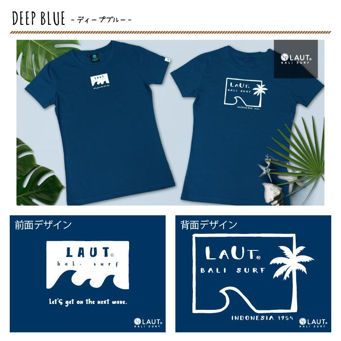 LAUT BALI SURF サーフ レディースTシャツ T-L2-Jtype