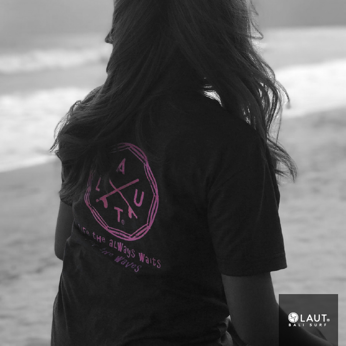 LAUT BALI SURF サーフ レディースTシャツ T-L1-Jtype